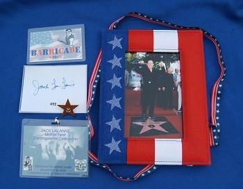 Jack LaLanne Walk of Fame Picture & Star Badges - Collage Video