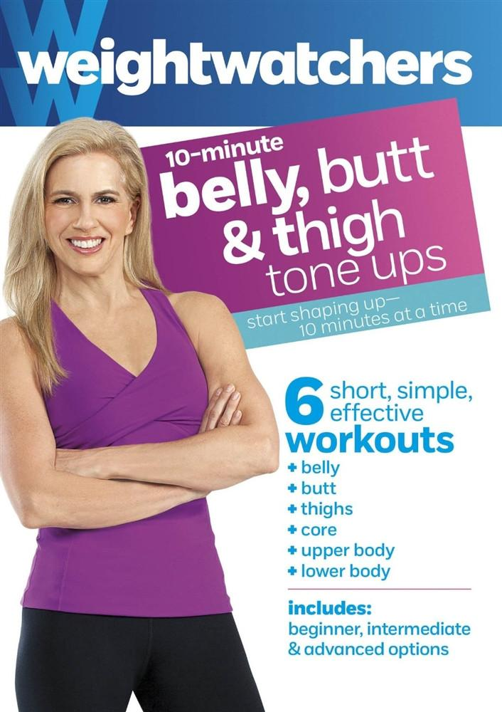 Weight Watchers: 10 Minute Belly, Butt & Thigh Tone Ups - Collage Video