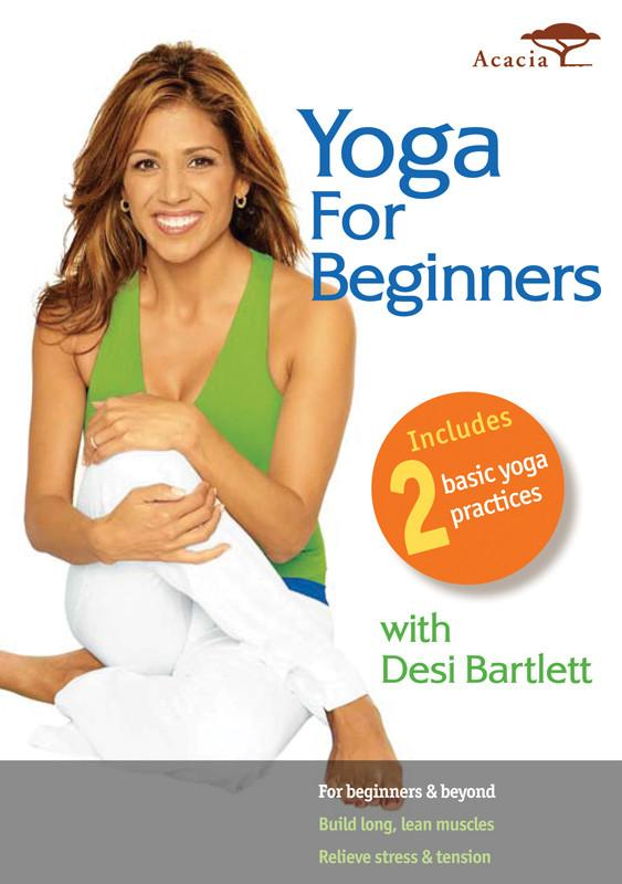 Yoga for Beginners with Desi Bartlett - Collage Video