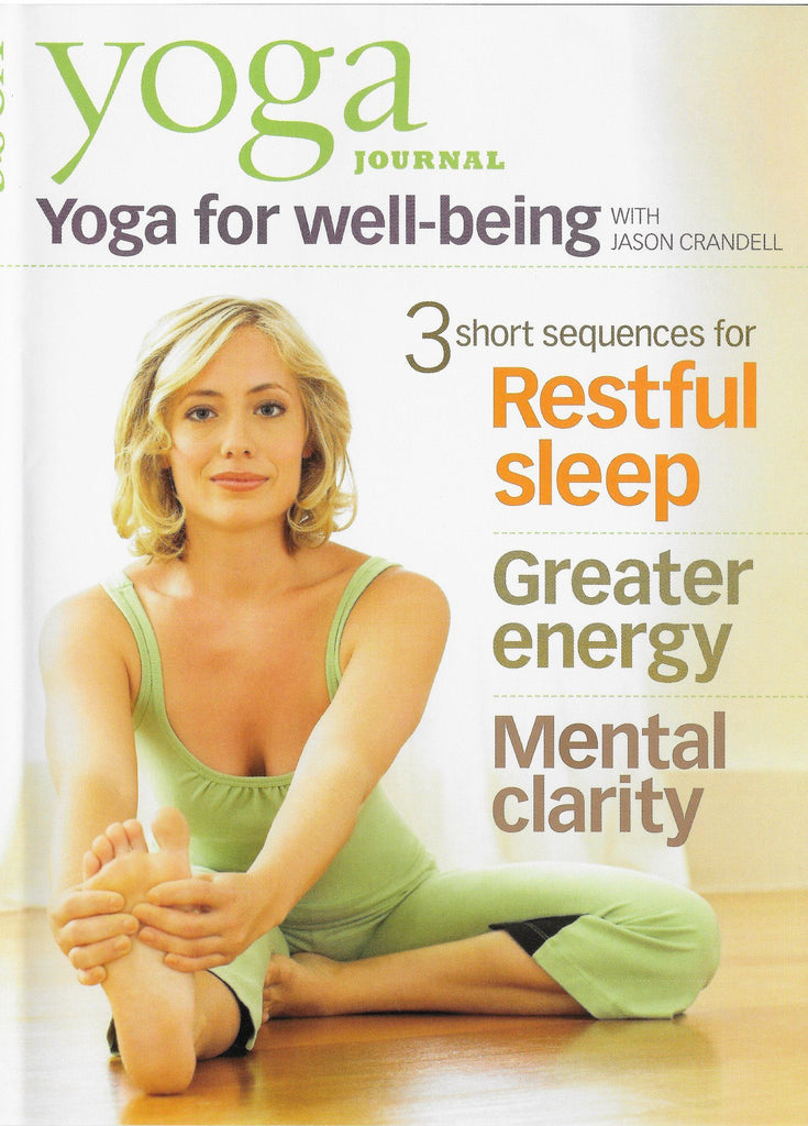 Yoga Journal: Yoga For Well-Being With Jason Crandell - Collage Video