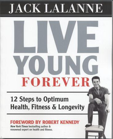 Jack LaLanne Live Young Forever (Book) - Collage Video