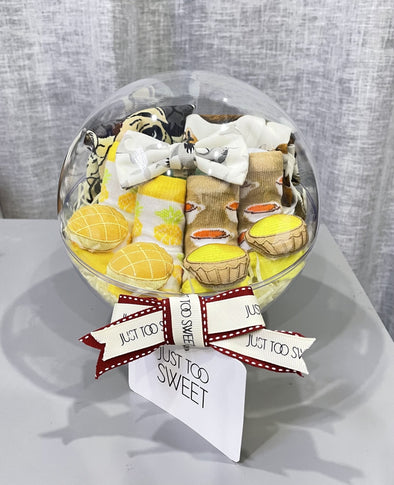 Just Too Sweet A LITTLE MAN ON THE WAY baby hamper -Just too Sweet - Babies and Kids Concept Store