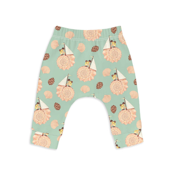 Sleep no more AND THE WALLS BECAME THE WORLD ALL AROUND organic baby leggings -Just too Sweet - Babies and Kids Concept Store