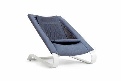 Bombol Bamboo 3Dknit™ Bouncer - DENIM BLUE -Just too Sweet - Babies and Kids Concept Store