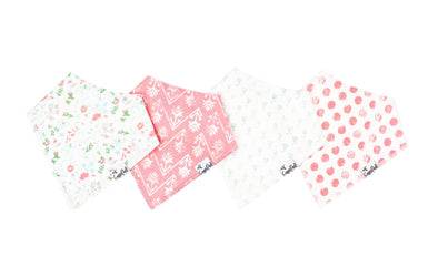 Copper Pearl CLAIRE baby bandana bib set (4-pack) -Just too Sweet - Babies and Kids Concept Store