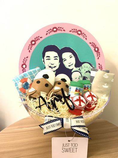 Just Too Sweet x Popduction Crystal Ball Hamper - 30cm Self Portrait -Just too Sweet - Babies and Kids Concept Store