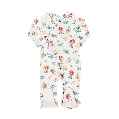 finn+emma FLYING PIGS organic sleepsuit -Just too Sweet - Babies and Kids Concept Store