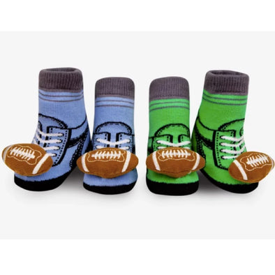 Waddle & Friends FOOTBALL Rattle socks (0-9M) -Just too Sweet - Babies and Kids Concept Store