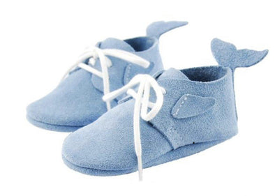 Little Lambo Handcrafted Moccasins - DOLPHIN -Just too Sweet - Babies and Kids Concept Store