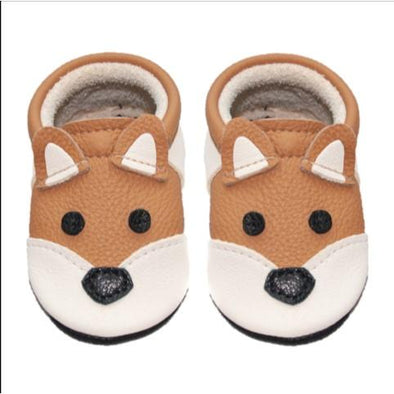 Little Lambo Handcrafted Moccasins - FOX -Just too Sweet - Babies and Kids Concept Store