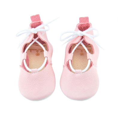 Little Lambo Handcrafted Moccasins - LACE UP AVA -Just too Sweet - Babies and Kids Concept Store