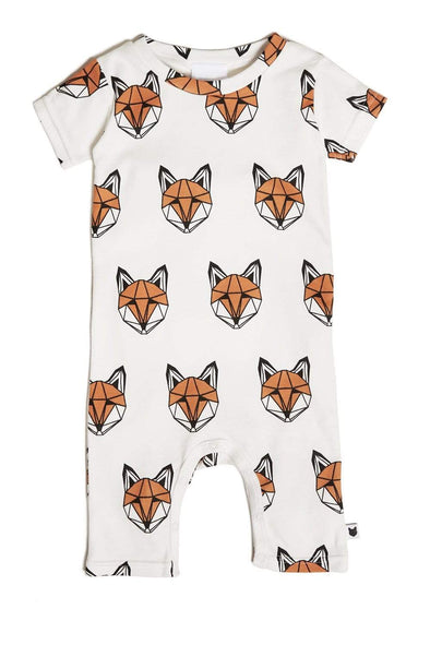 Tobias&the Bear Just Call Me Fox Short Romper -Just too Sweet - Babies and Kids Concept Store