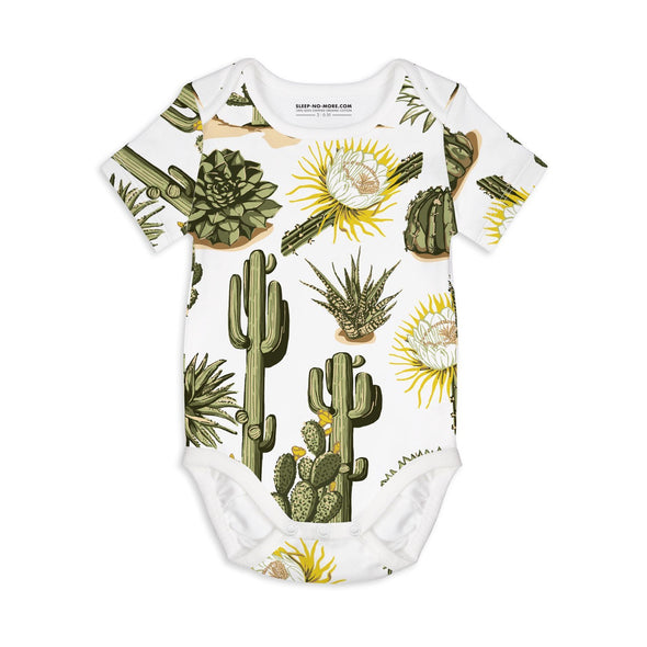 Sleep no more STAY SHARP organic s/s bodysuit -Just too Sweet - Babies and Kids Concept Store