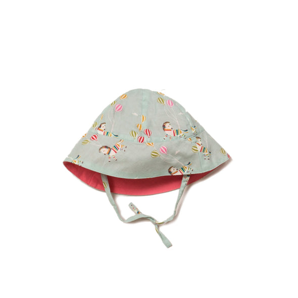Little Green Radicals Wild Horses Reversible Organic Sunhat -Just too Sweet - Babies and Kids Concept Store