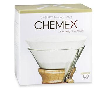 Chemex Unfolded Circle Filters 100 Pack