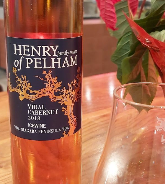 Henry of Pelham 2018 Vidal Red Icewine