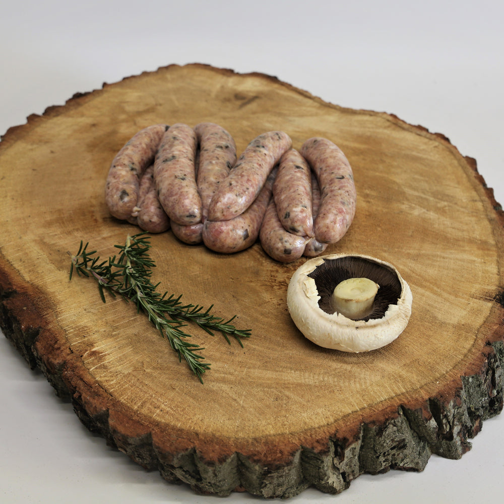 Outdoor Bred Pork, Truffle and Porcini (1kg)