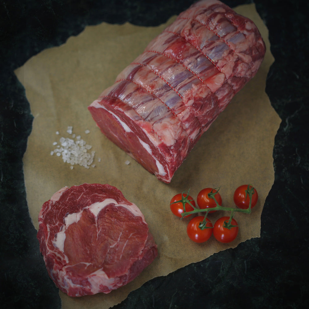 Load image into Gallery viewer, Grass Fed British Rib of Beef (Min 2kg)