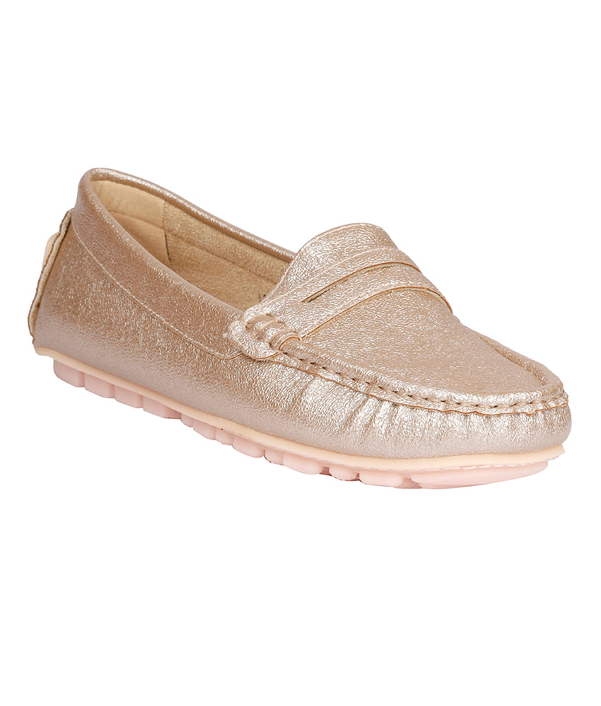 Women Champagne Party Loafers