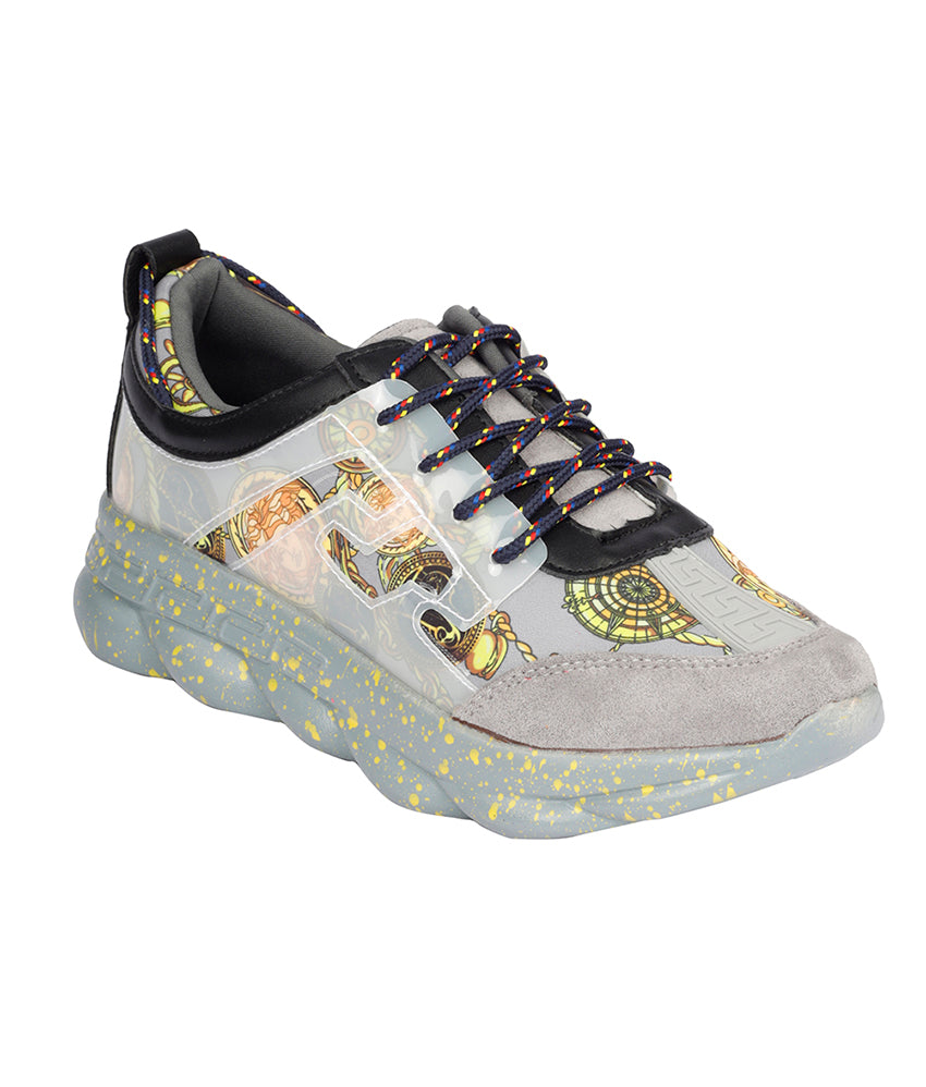 Women Grey Urban Sneakers
