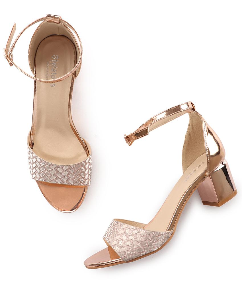 Women Champagne Party Sandals