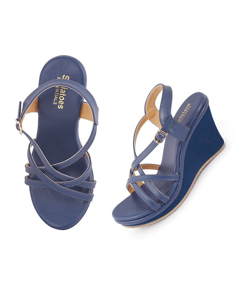 Women Navy Casual Sandals