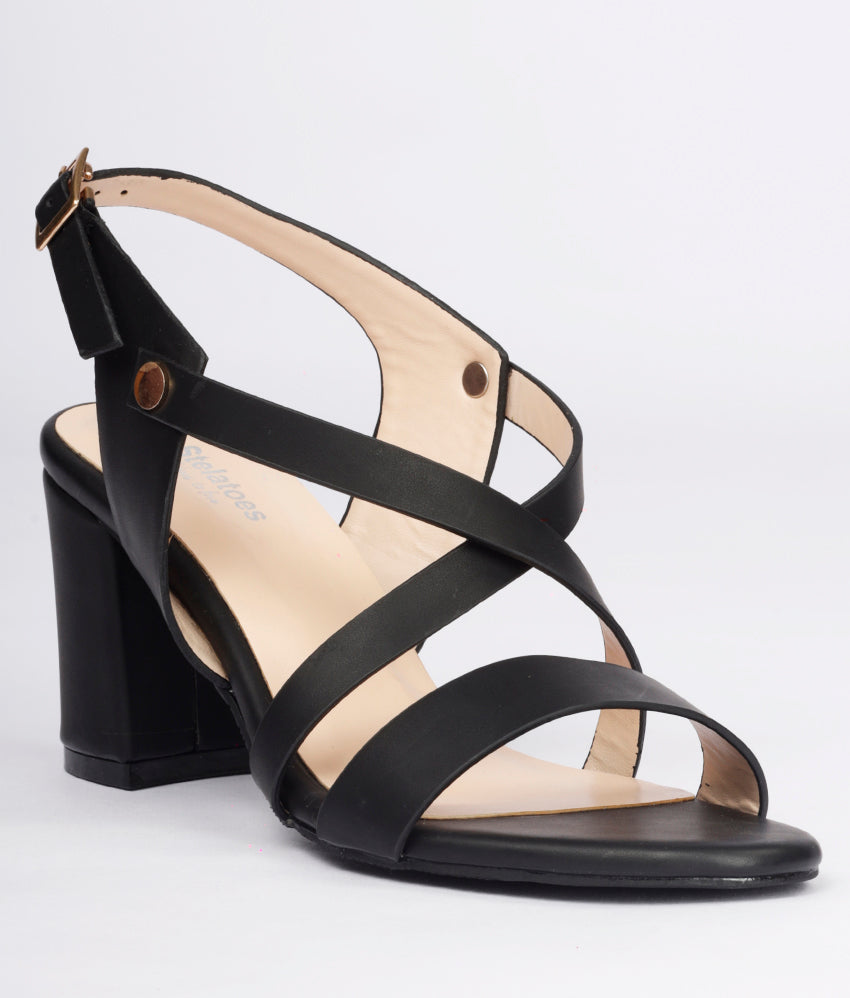 Women Black Casual Sandals