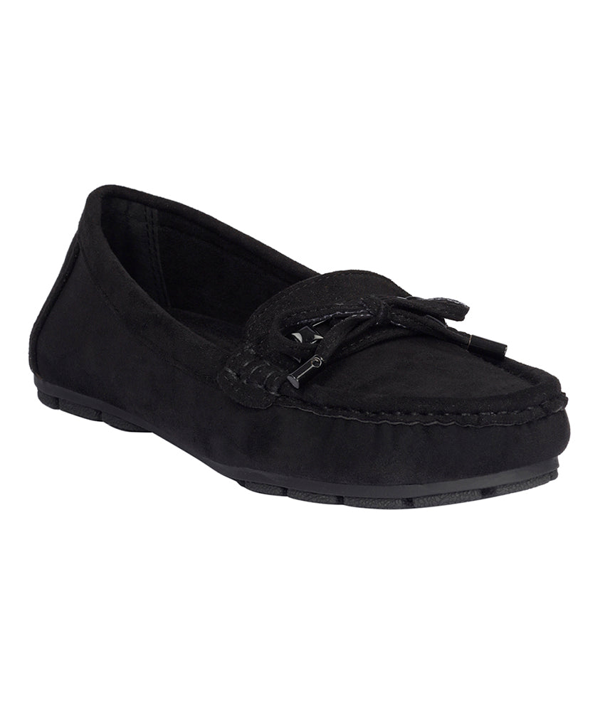 Women Black Casual Loafers