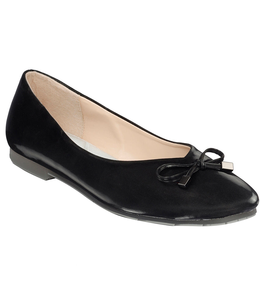 Women Black Casual Ballerinas