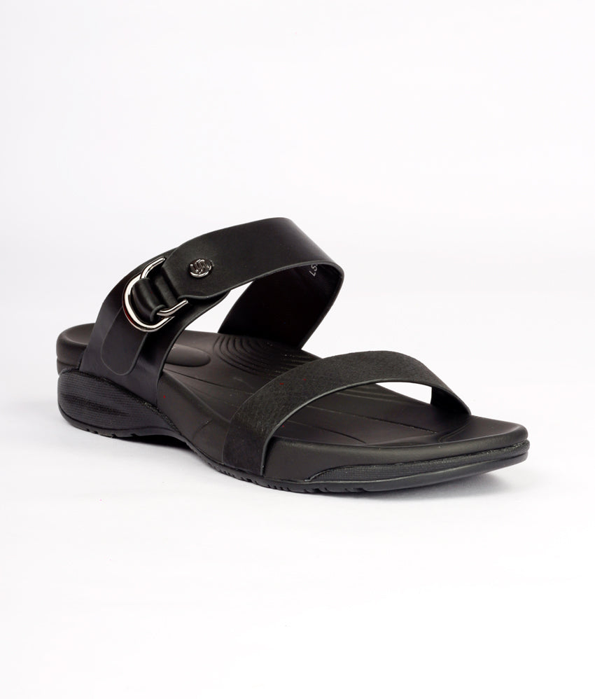 Women Black Casual Slip on