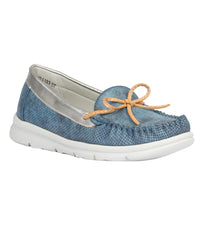 Women Blue Urban Loafers