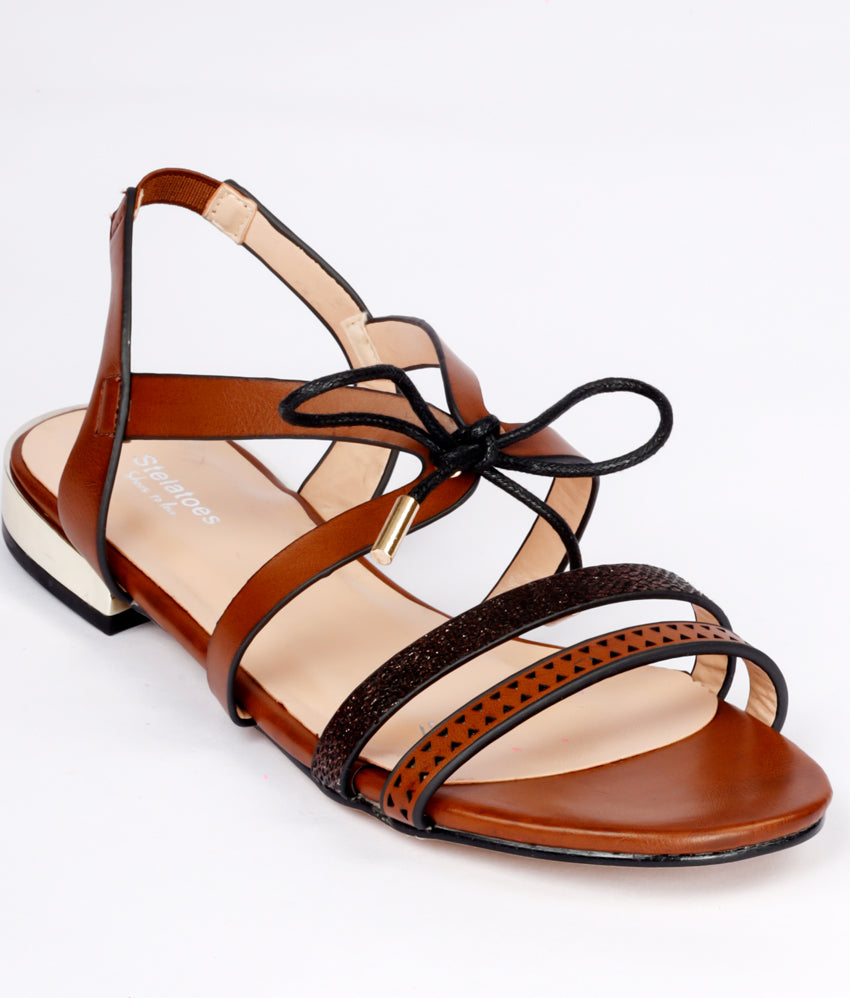 Women Brown Urban Sandals