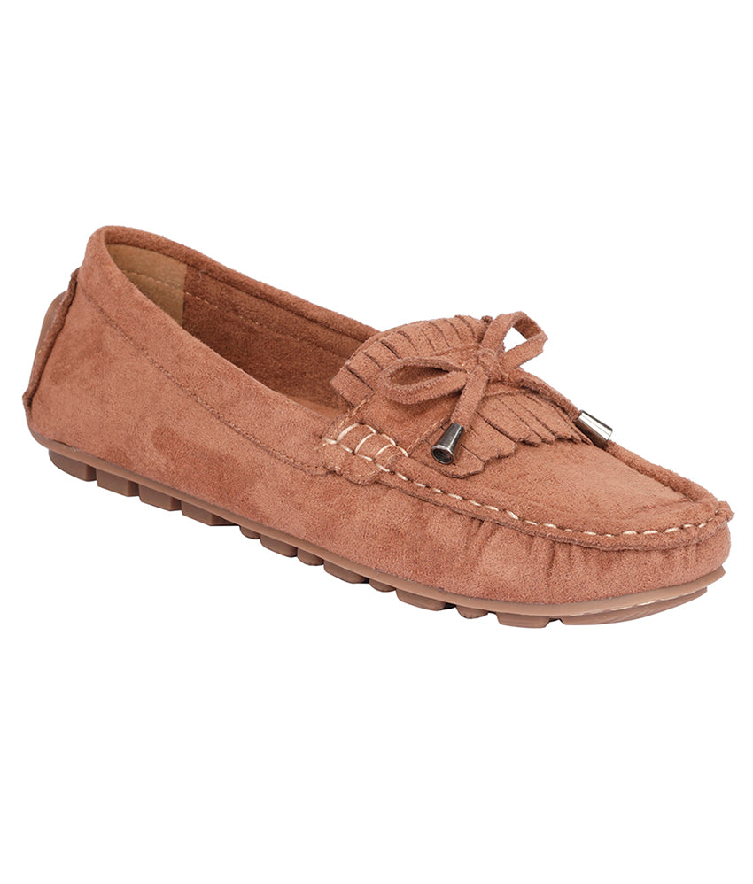 Women Brown Casual Loafers