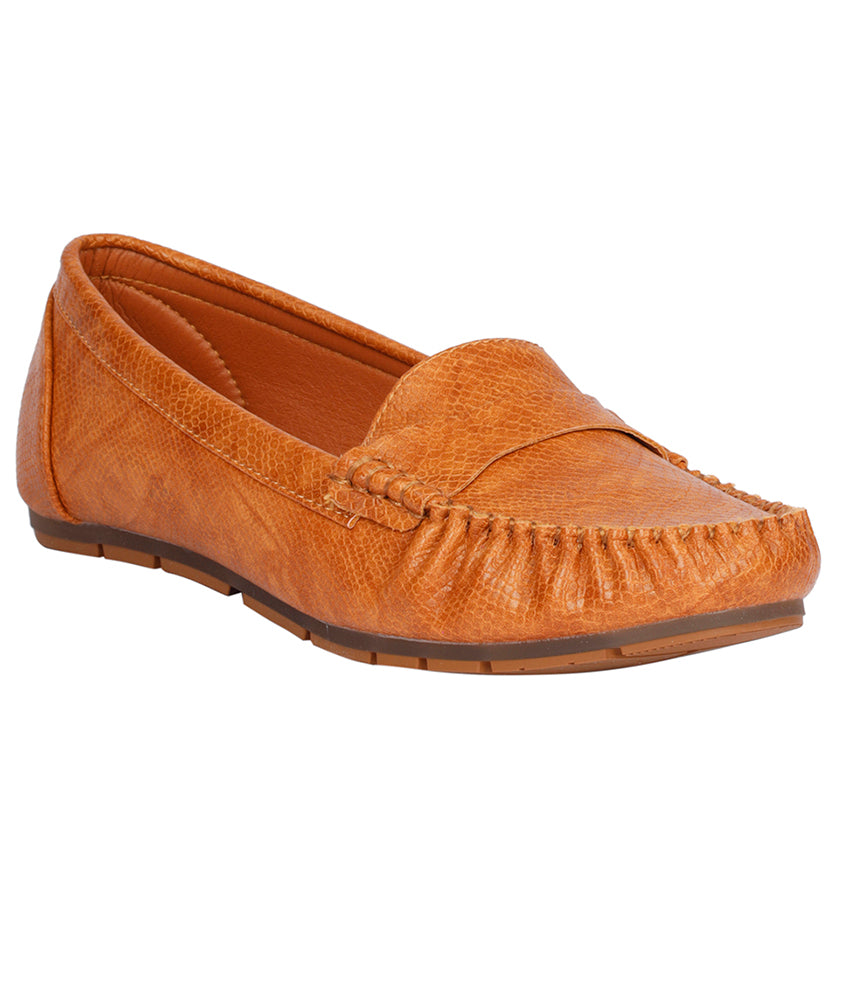 Women Camel Casual Loafers