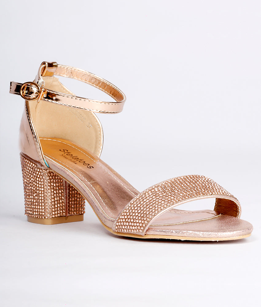 Women Champagne Wedding Sandals