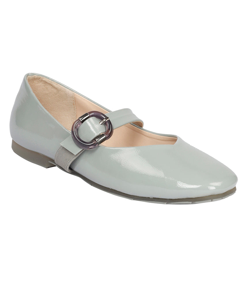 Women D Grey Casual Ballerinas