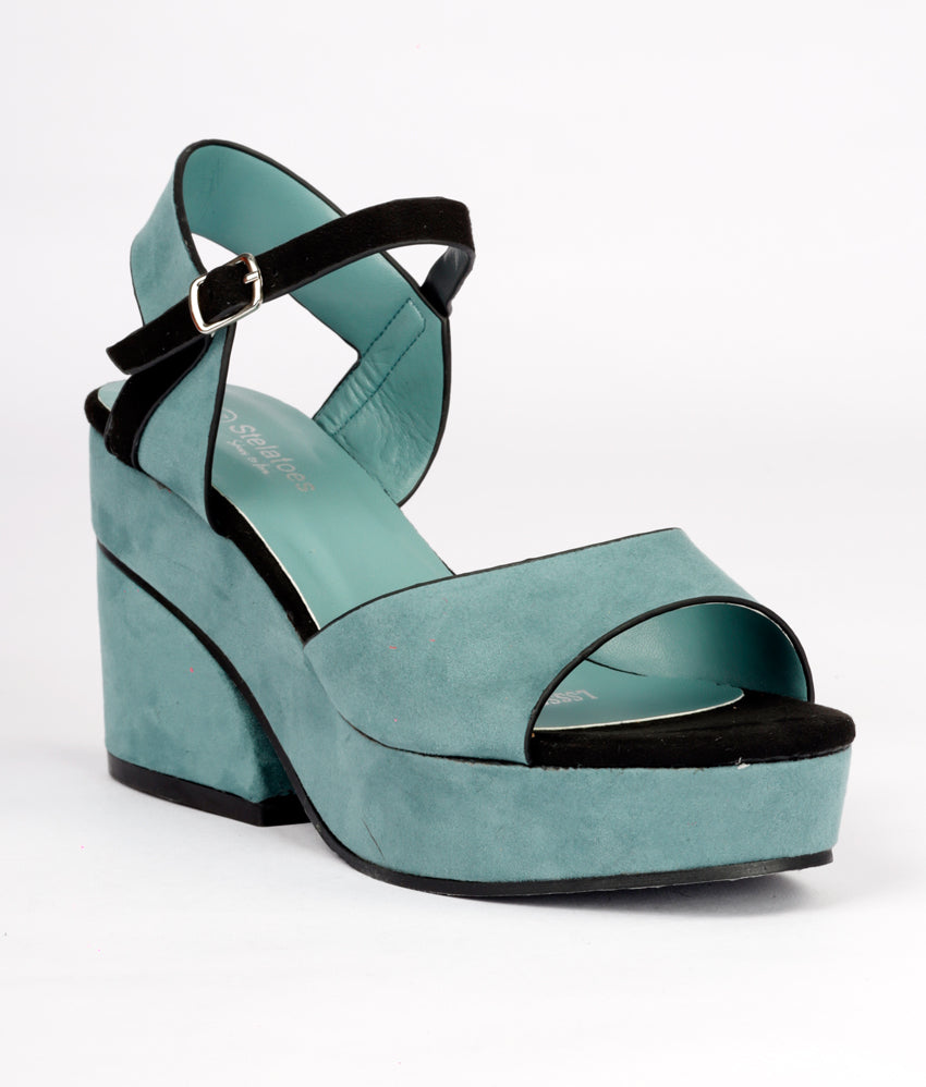 Women Green Urban Sandals