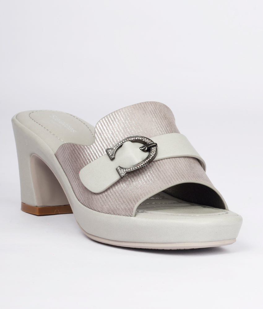 Women Grey Casual Slip on