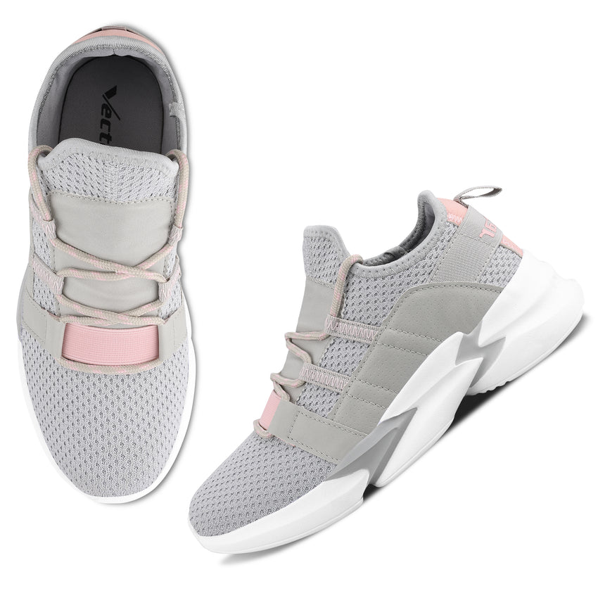 Women Grey Casual Sneakers