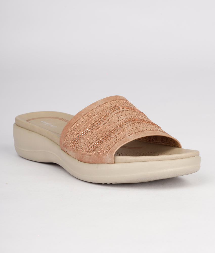 Women Light Pink Urban Slip on