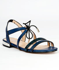 Women Navy Urban Sandals
