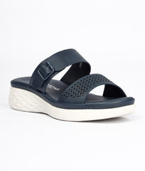 Women Navy Urban Slip on