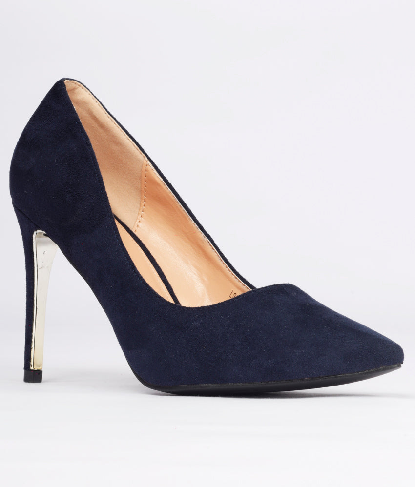 Women Navy Casual Pumps