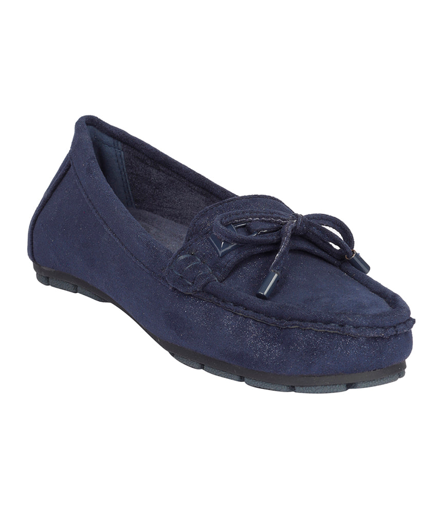 Women Navy Casual Loafers