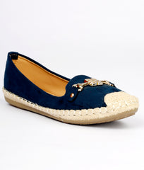 Women Navy Urban Ballerinas