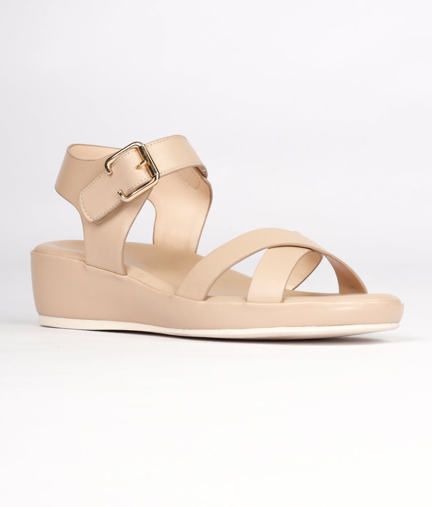 Women Nude Casual Sandals