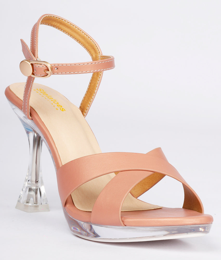 Women Nude Urban Sandals