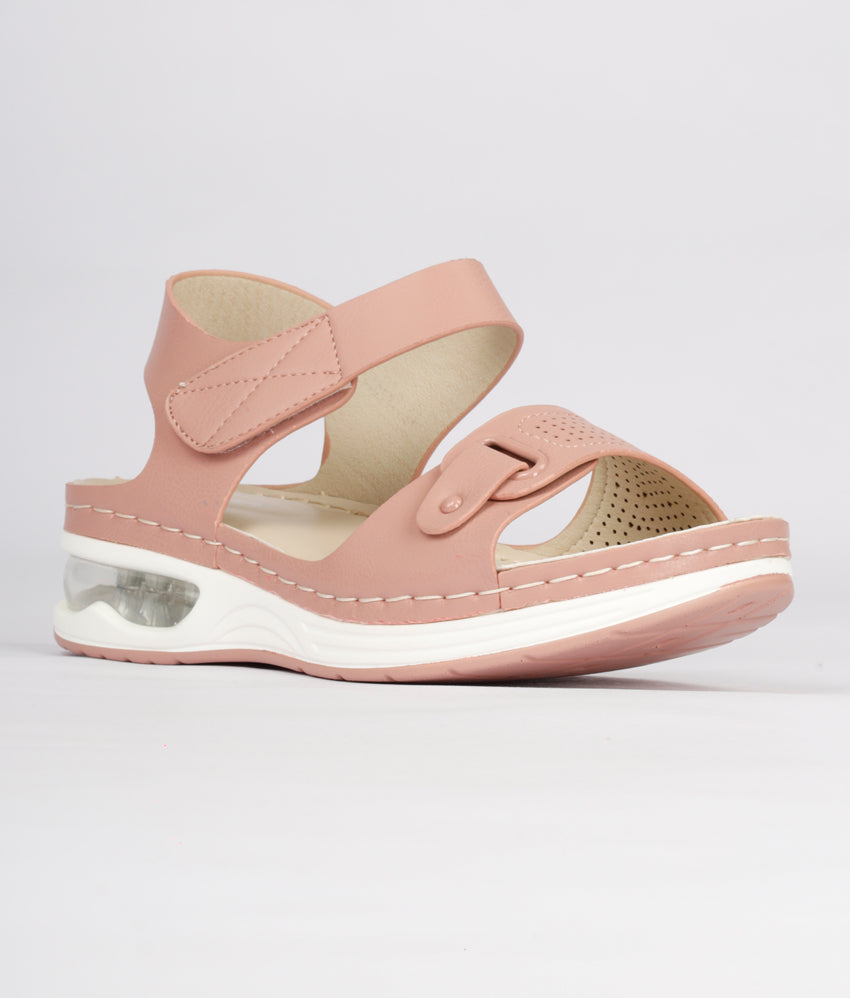 Women Pink Casual Sandals
