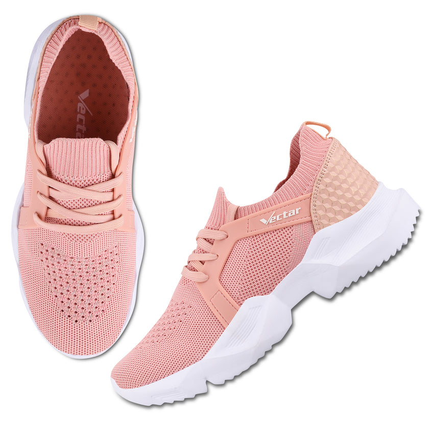 Women Pink Casual Sneakers