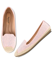 Women Pink Urban Ballerinas